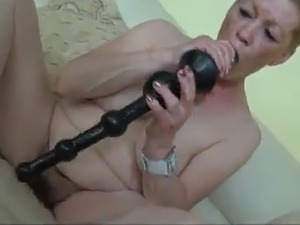Couple Kinky aged lesbo Finger Each Other's Twats Indoors