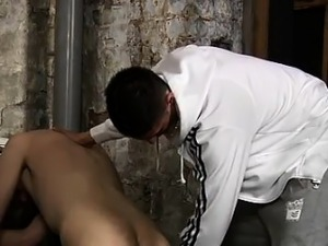 Jack off group friends gay porn first time He's prepped to g