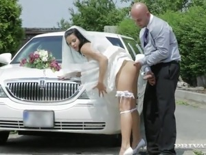 Limo Driver drills Victoria Blaze onto A Way To Wedding