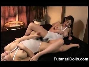 Futanari Monster Cumshot Compilation!