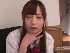 Petite School Girl Yuria Mano gets fuck really hard