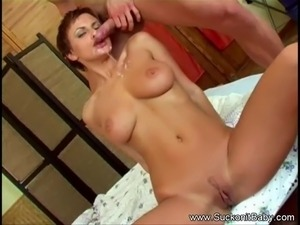Gorgeous Short Haired Brunette BJ