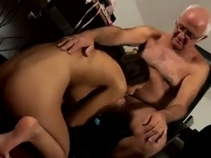 Old lady striptease first time At that moment Silvie comes i