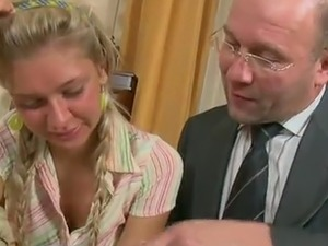 Nuahgyt And Slender pussy Nika has that mature lad To cumming