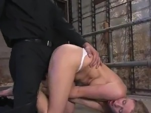 Chick close to Sensuous boobs has banged not far from the Gag inside Her Mouth
