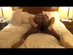 White wife cms hard with an aggressive BBC.