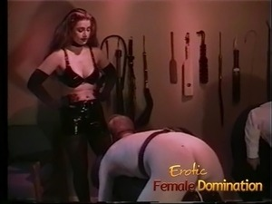 Policewoman and a dominatrix team up to interrogate