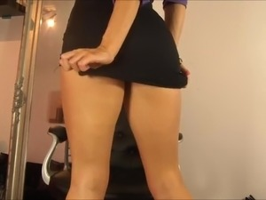POV - Secretary Ass Worship
