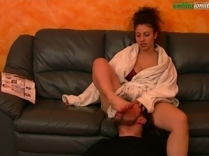 The Puppet Of Elisa Third Part - Femdom and Foot Domination