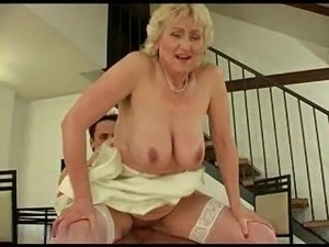Blond Hairy Granny R20