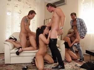 Orgy with Classy Ladies