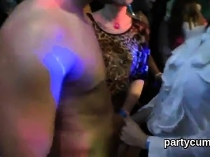 Sexy kittens get entirely foolish and nude at hardcore party