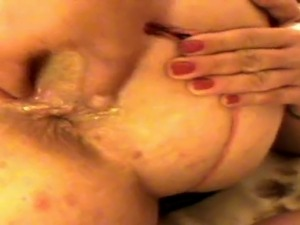 Anal fucking my wife and finish with deep cum High-heels, Wife, Wife-sharing,...