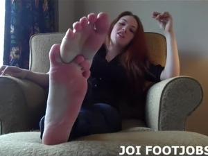 I know about your secret footjob fetish JOI