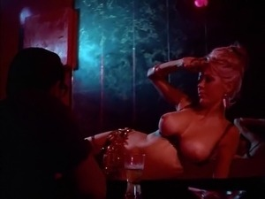 BIG TIT BELLY DANCE - vintage 60s amazing blonde teases