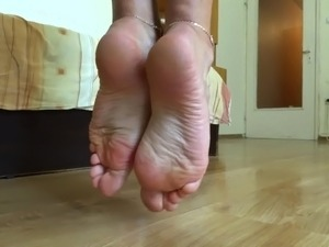 Teasing you with perfect soles - close view