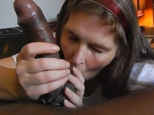 Amateur Mature Swallows Cum POV