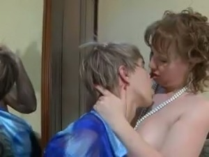 Russian mature has seduced young boy. Homemade video.