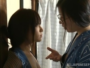 Two Japanese Ladies In A Hot Lesbian Pussy Action