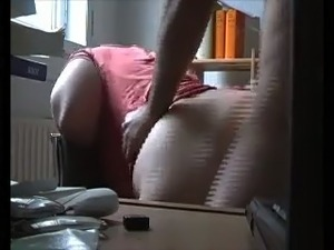 My chunky brunette wifey gets her snatch drilled rough
