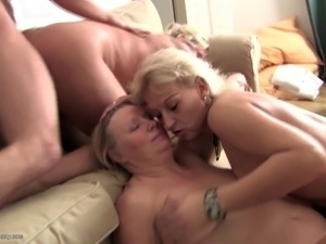 Granny and moms seduced by young dirty boy