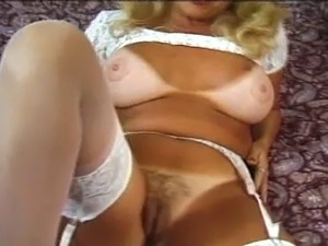 thick blonde milf anal facial