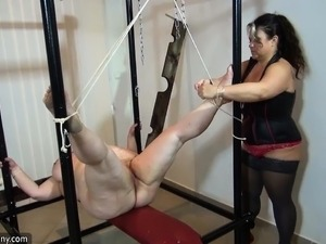 OldNannY Mild Mature BDSM Session