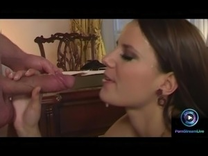 Steamy anal sex and huge cumshot with Simone Peach