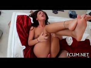 Indoors fucking with a sexy floozy