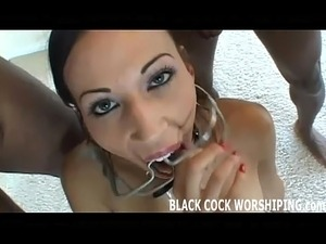 Tonight I am getting filled with some big black cock