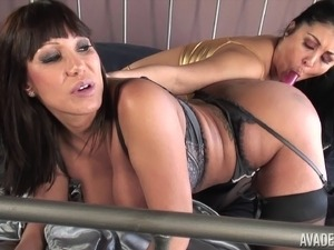 Ava Devine and Jaylene Rio are a couple of chubby lesbian babes